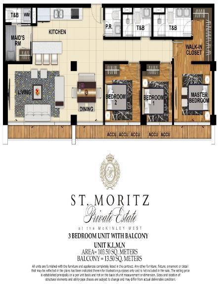 St. Moritz, Site Development Plan