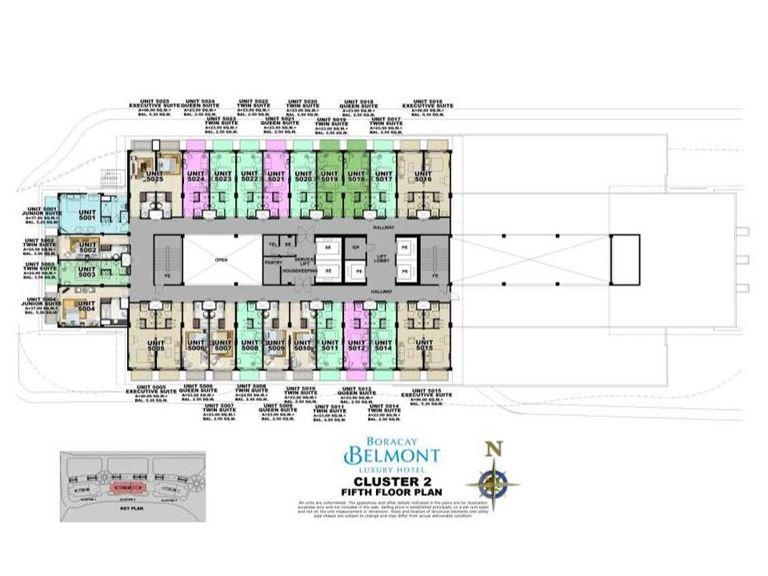 Belmont Hotel, Site Development Plan